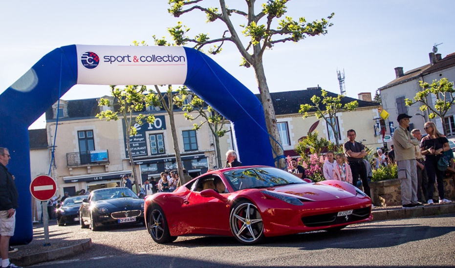 Supercars take over Rural France – Le Vigeant and L'isle Jourdain 86150, France 4th June 2020!!